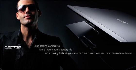 Acer Aspire Timeline, Acer TimeLine