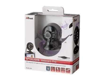 Akció 2012.07.11-ig  Web Camera Trust Spotlight webkamera USB, 640x480 (2 év)