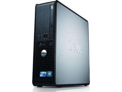 Akció 2011.04.18-ig  Dell Optiplex 380SF számítógép PDC E6700 3.2GHz 2GB 500GB W7P 4ÉV (4 é