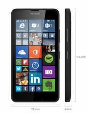 Karácsonyi ajándék ötlet 2015: Dual SIM mobiltelefon Microsoft Lumia 640 fekete