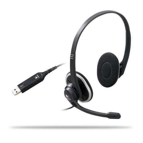 Akció 2011.04.04-ig  Headset H330 USB fejhallgató (Logitech)