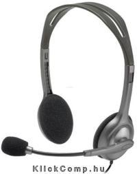 Vezetékes headset Logitech H111 981-000593 fotó 5c2aee28f5
