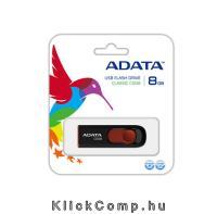 Karácsonyi ajándék ötlet 2015: ADATA 8GB USB2.0 Fekete