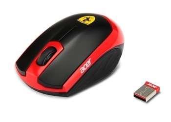 Akció 2012.07.31-ig  Acer Ferrari motion vezeték nélküli lézer egér ( PNR 1 év )