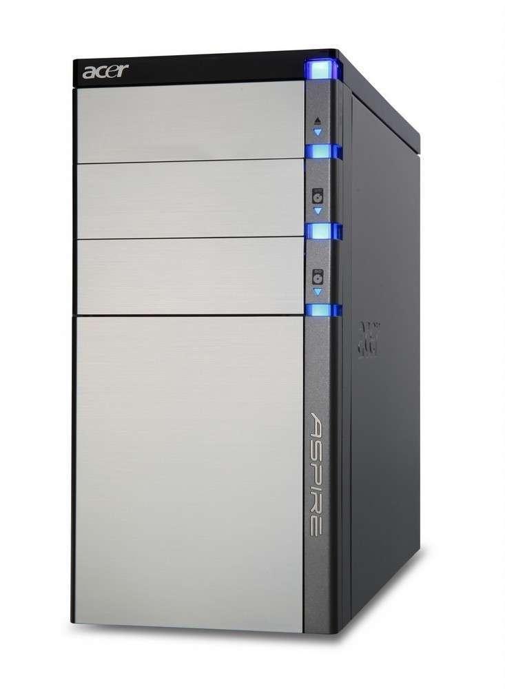 Akció 2011.05.02-ig  Acer Aspire M5910G számítógép Core i5 650 ATI HD5570 2x2GB 2x500GB Lin