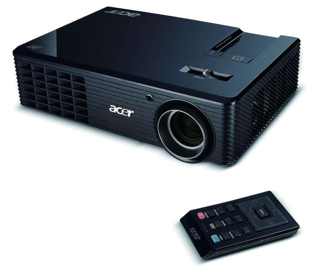 Akció 2011.02.07-ig  Acer X110 3D projektor SVGA (800x600) 2500 lumen 4000:1 ( PNR 2 év )