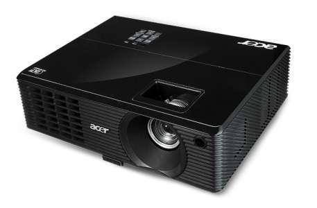 Akció 2011.05.02-ig  Acer X1210 DLP 3D projektor XGA (1024x768) 2300 lumen 2000:1 ( PNR 2 é