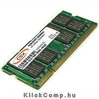 4GB DDR3 Notebook memória 1333Mhz 256x8 CL9 SODIMM CSX ALPHA CSXA-SO-1333-4G fotó