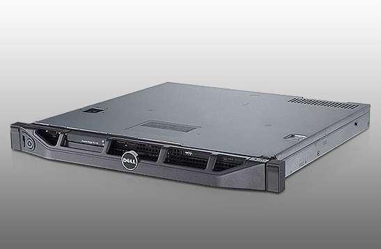 Akció 2011.09.06-ig  Dell PowerEdge R210 rack szerver QCX X3430 2.4GHz 4G 2x500GB (3 év kmh