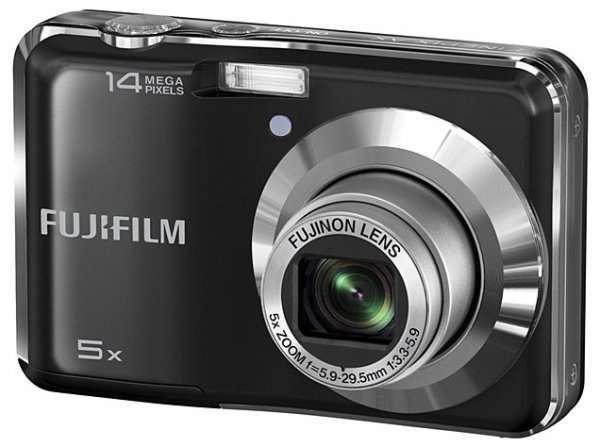Akció 2011.05.30-ig  Fuji FINEPIX AX300 digitális fényképezőgép fekete 14MP ( 2 év)
