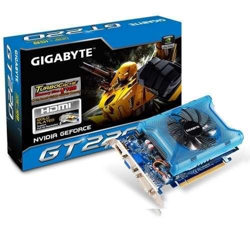 Akció 2010.12.13-ig  VGA GIGABYTE Videókártya PCI-Ex16x nVIDIA GT 220 1GB DDR3 (3 év)