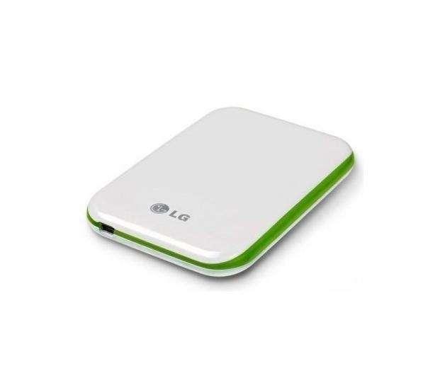 Akció 2011.05.16-ig  LG külső HDD 2.5  500GB USB 5400 rpm White Green ( Szervizben 2 év )