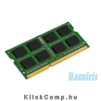 4GB notebook memória DDR3 1600MHz Kingston KCP316SS8 4 KCP316SS8_4 fotó