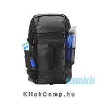 "15,6"" notebook hátizsák fekete HP Odyssey Backpack L8J88AA fotó"