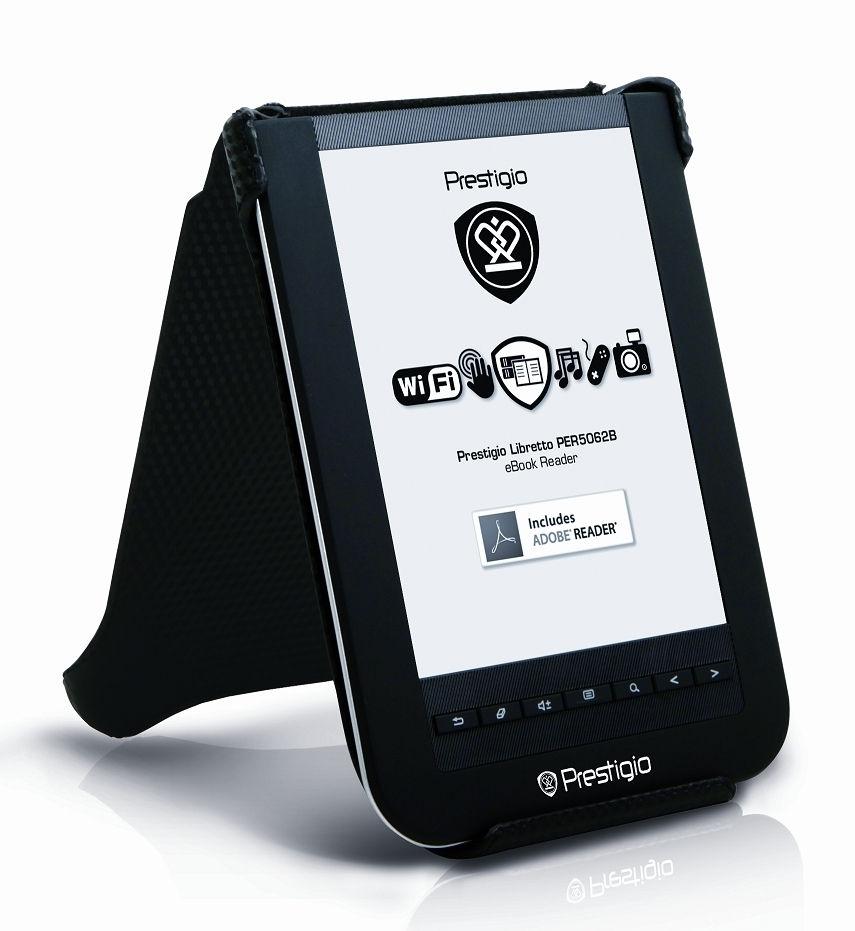 Számítástechnika akció 2010.11.29-ig  e-Book Reader Prestigio Libretto 6  elektronikus könyv olvasó WiFi (2