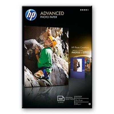 Akció 2012.07.11-ig  HP Fotópapír Photo Paper Advanced Glossy 10x15cm, 100 lap, 250g/m2