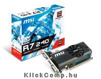 R7 240 2GD3 LP AMD 2GB DDR3 128bit PCIe videokártya R7-240-2GD3-LP fotó
