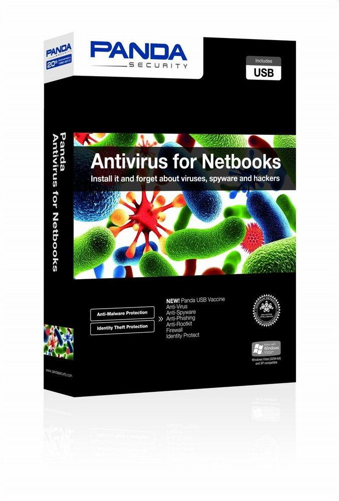 Akció 2011.08.23-ig  PANDA Antivirus for Netbooks - Retail Box - 1 éves érvényesség + ajánd