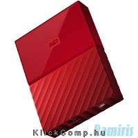 "2TB külső HDD 2,5"" WD My Passport NEW! Red WDBYFT0020BRD-WESN fotó"