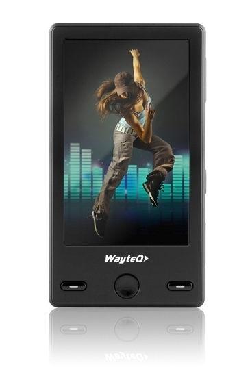 Akció 2011.01.11-ig  WAYTEQ  P55 2GB MP5 Lejátszó 3   TFT, HD Ready, HDMI ( Szervizben 1 év