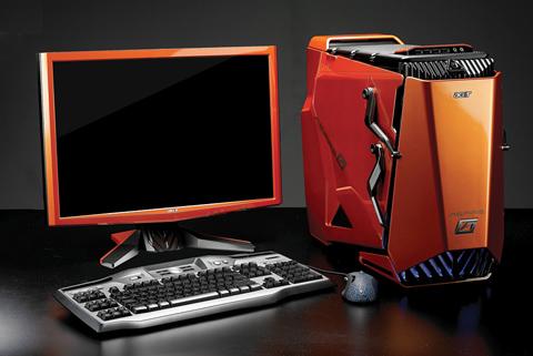 Csúcskategóriás, kifejezetten játékosoknak szánt, küllemében is formabontó számítógéppel jelentkezik az Acer.