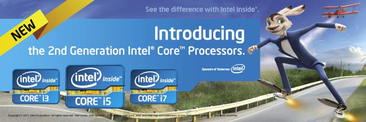 Intel Sandy-bridge : Intel Core i5/i7 második generációs processzor család