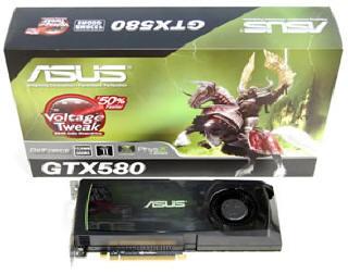 Rekord teljesítményre képesek az ASUS GeForce GTX 500 sorozatú grafikus kártyák