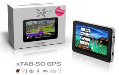 WayteQ xTAB-50 GPS új kivitelben