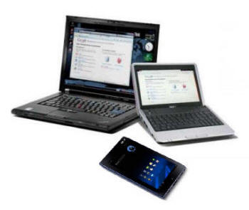 Laptop, Netbook, Tablet
