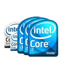Intel notebook processzorok