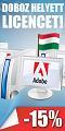 Adobe licenc akció!